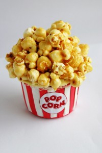 Caramel Corn Recipe Cupcake