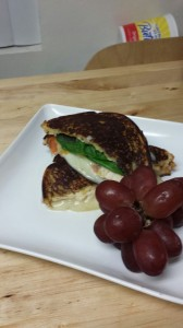 Grilled Sandwich with Chicken