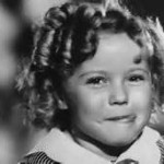 Shirley Temple Licking Lips