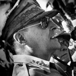 DouglasMacArthur In His Ray Ban Aviator Sunglasses