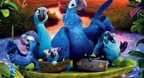 Rio 2 Blu & Family