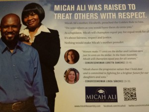 Micah Ali Democrat For Assembly