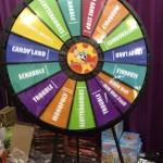Chuck E Cheese Spinning Wheel