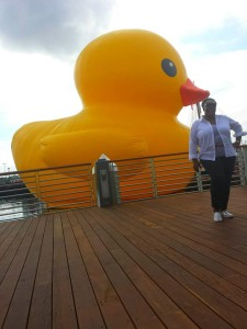 Kiss of the Rubber Duck
