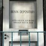Mel Brooks Brain Depositary Door