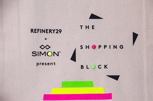 The Shopping Block Simon and Refinery29
