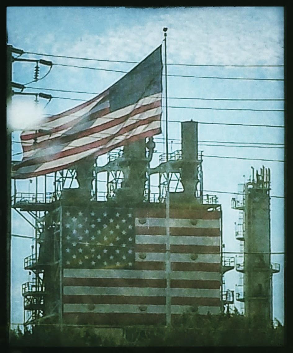 American Flag Flying High Veterans Day