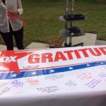 20th Century Fox Veterans Day Gritude Wall