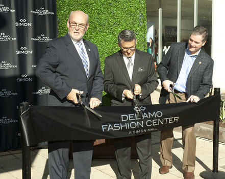 Del Amo Fashion Center Ribbion Cutting Ceremony