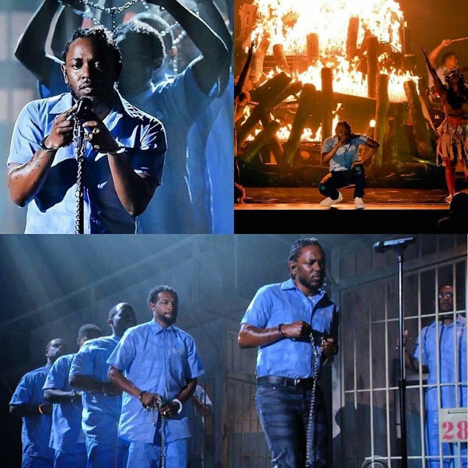 Kendrick Grammy Pic