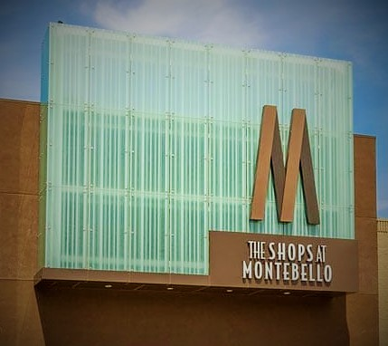 The Shops at Montebello Mall Sign