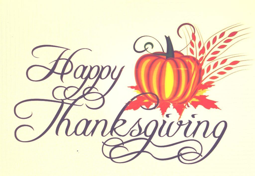 Thanksgiving - Remembering Yesteryear